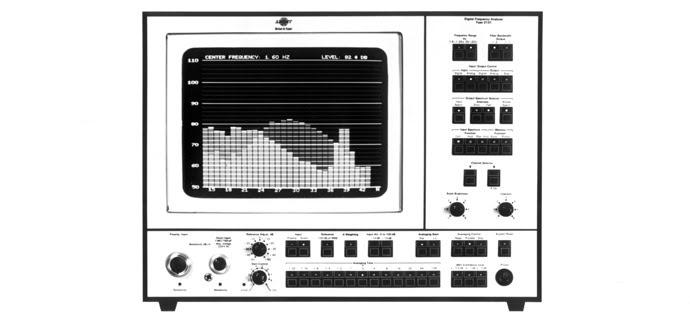 Resultado de imagen para primer analizador acústico en el mundo.
