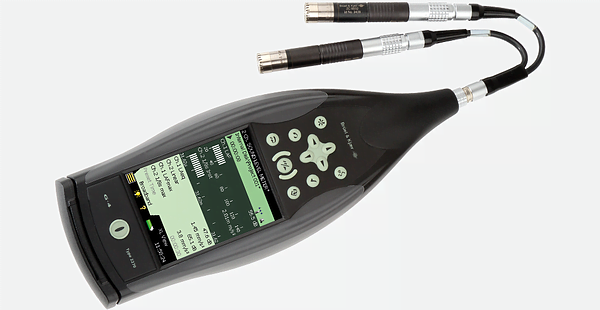 One or two channel sound level meter