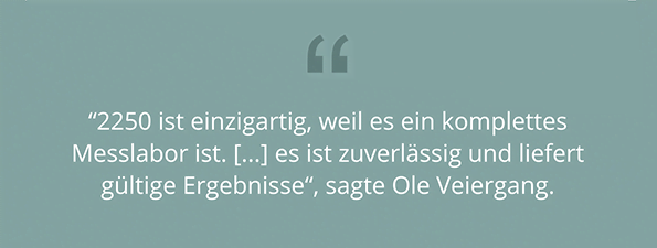 VM Acoustics - Ole Veiergang Quote-German