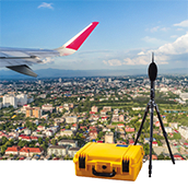 airport noise monitoring on demand