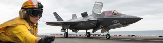 Testing ramp noise and durability on Lockheed Martin's F-35