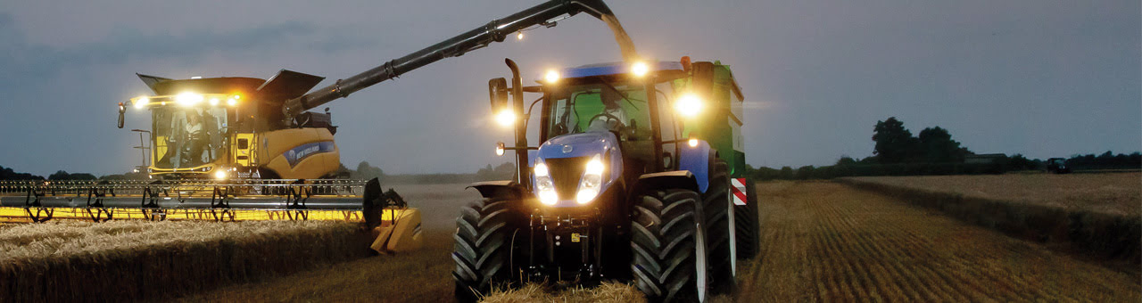 Cutting the commute for New Holland's harvesters