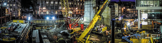 The Crossrail Project London – C501 Moorgate Shaft