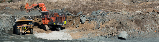 Managing mining noise vibration and dust in an urban environment