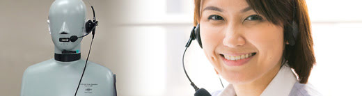 Hearing loss at call centres