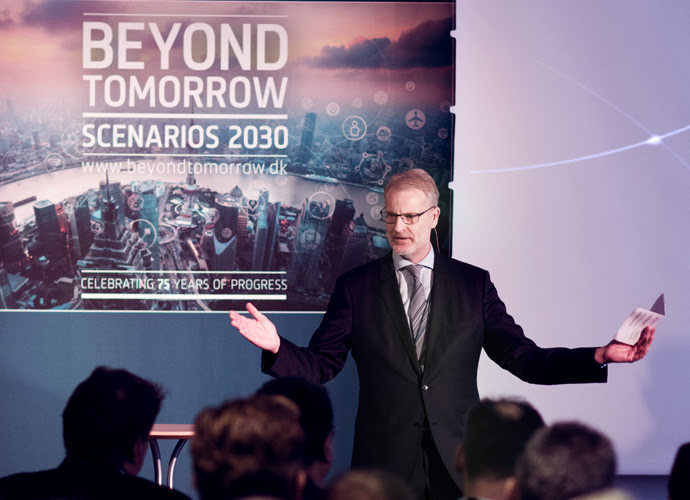 Beyond tomorrow presentation - Brüel & Kjær president Søren Holst
