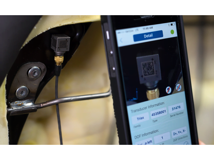 Smart transducer setup app helps minimize human errors in setting up modal measurements