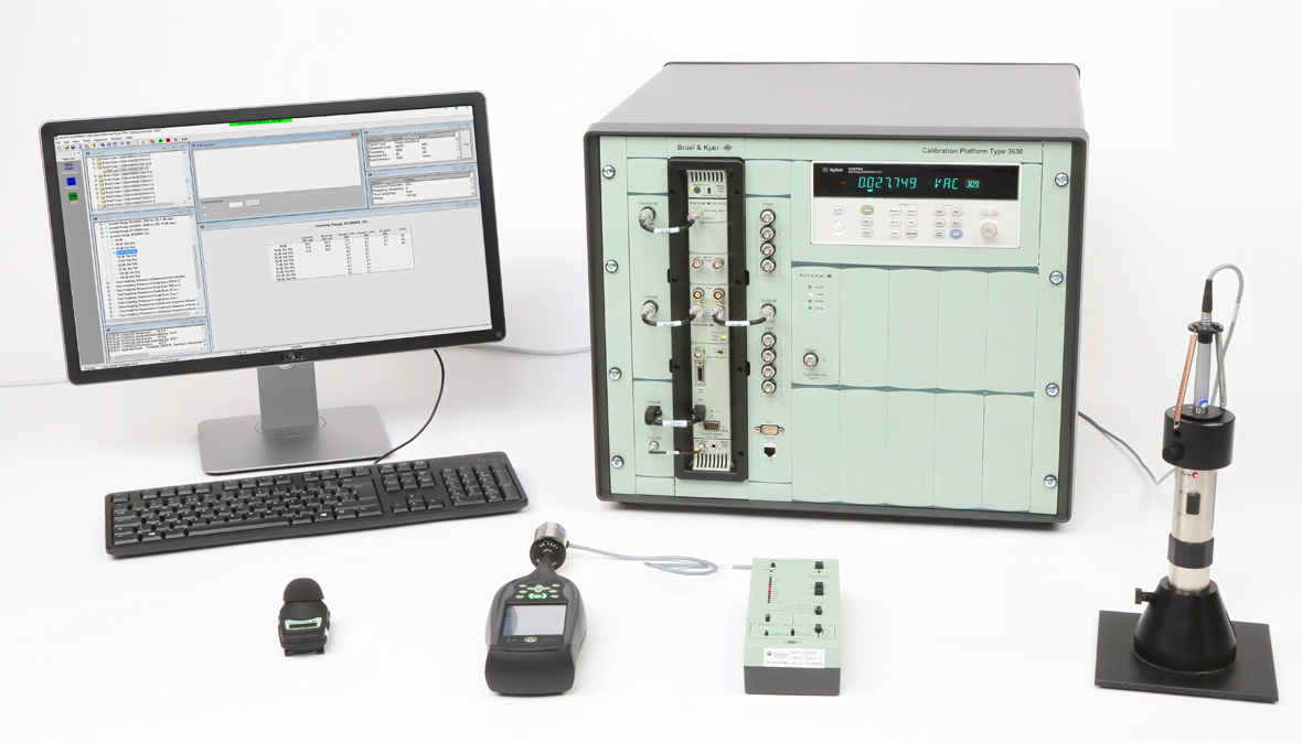 TYPE 3630-A system for calibration of sound level meters and other instruments
