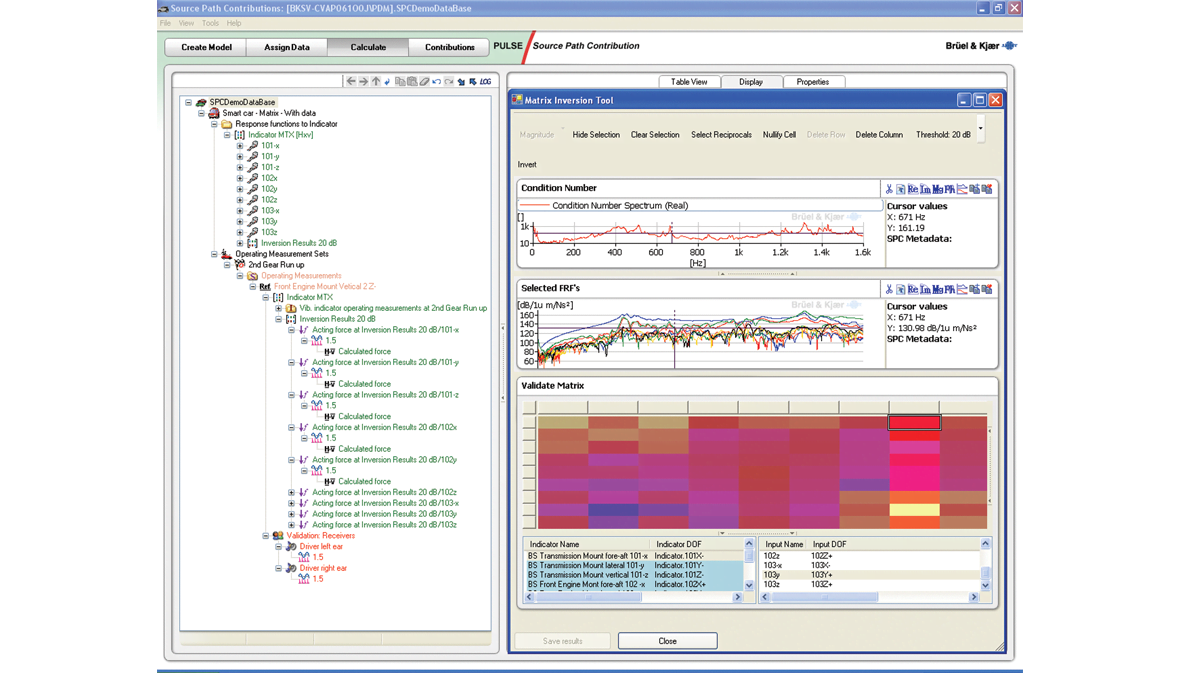 Source path analysis software