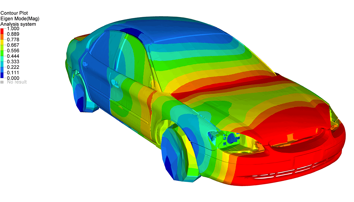Brüel & Kjær noise, vibration and harshness (NVH) simulation software is now available to automotive designers as a module, Insight+ in Altair HyperWorks CAE design software.