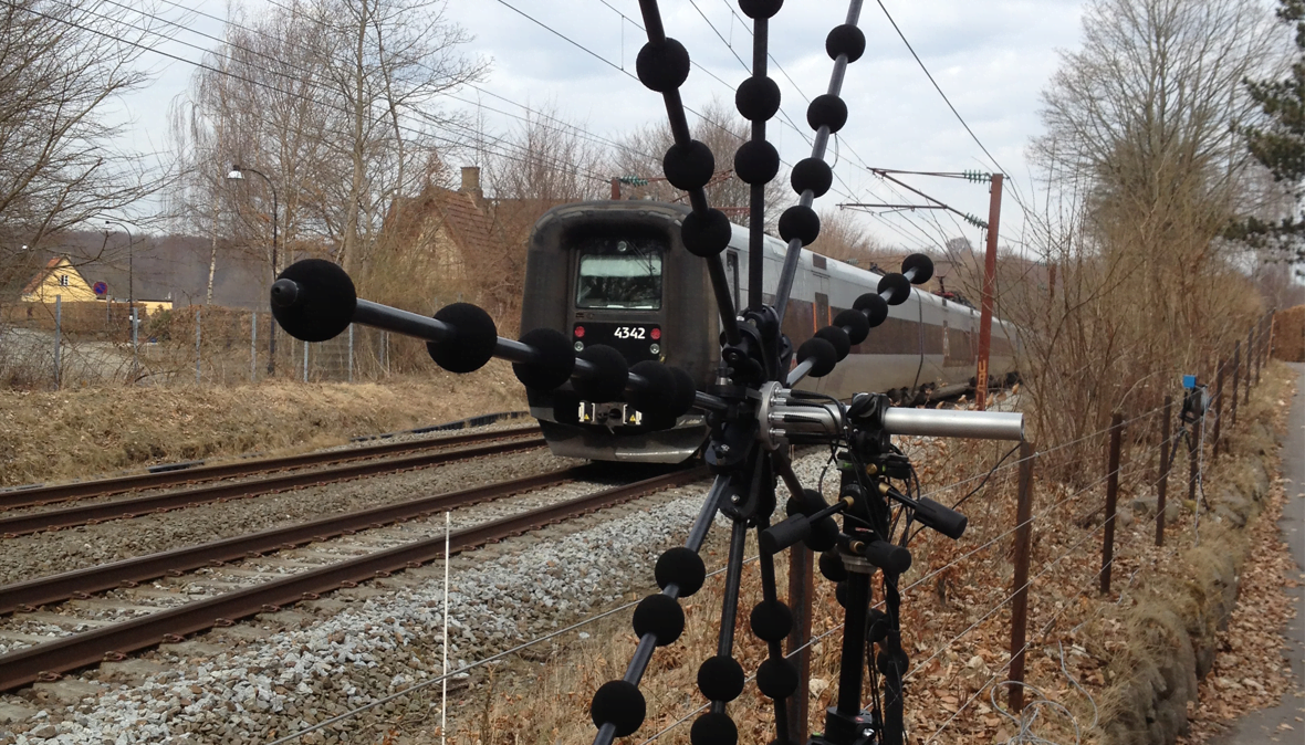 BZ-5939 Rail vehicle moving source beamforming