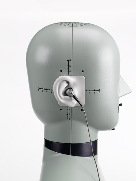 HATS (Head and Torso Simulator) Type 4128-C with earphone