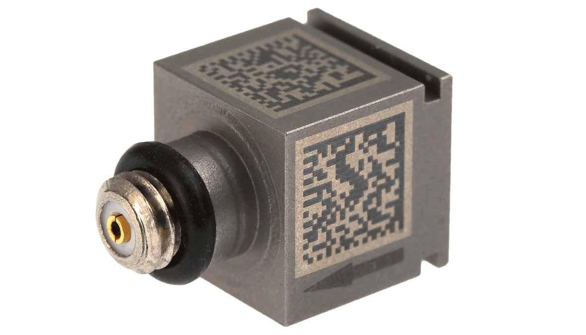 TYPE 4508  Piezoelectric CCLD accelerometer, with data matrix code