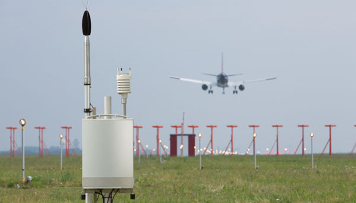noise monitoring terminal airport