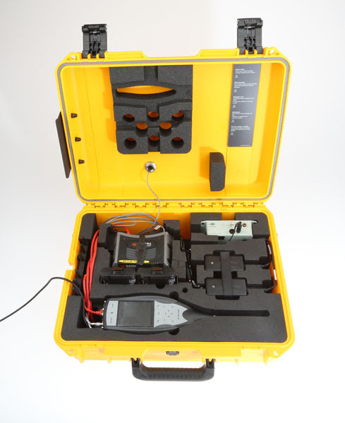portable noise monitoring terminal all weather case