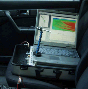DISCOM Mobile is an in-cabin acoustic quality system for the correlation of completed vehicle and test-stand data.