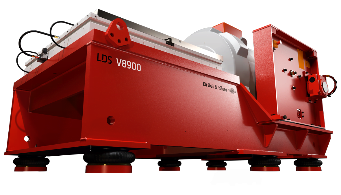 High-force shaker LDS V8900