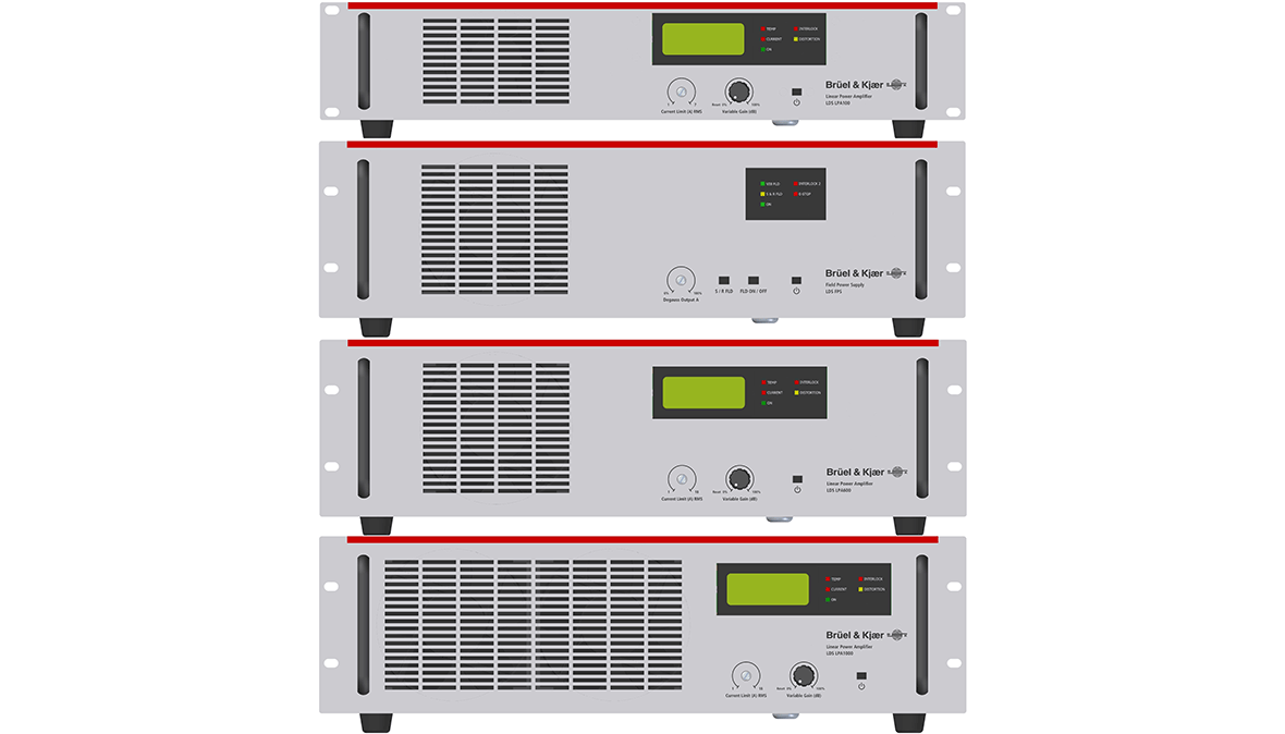LDS linear power amplifiers and field power supply