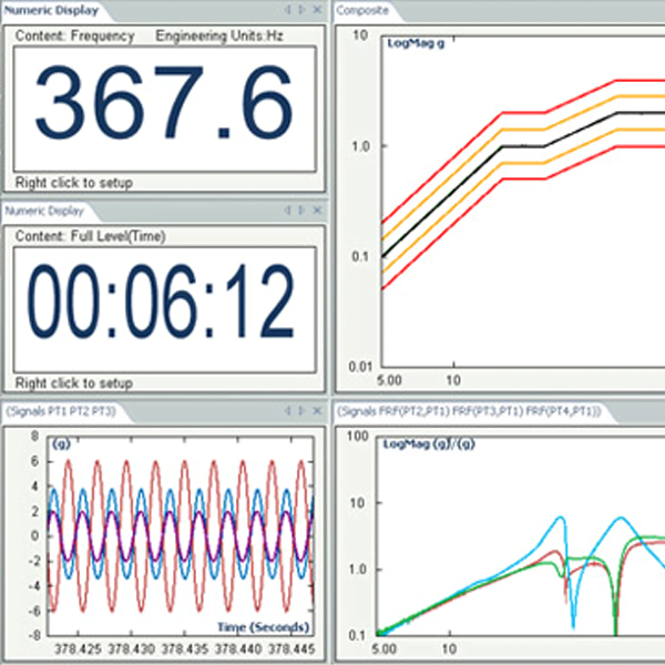 Sine vibration control software
