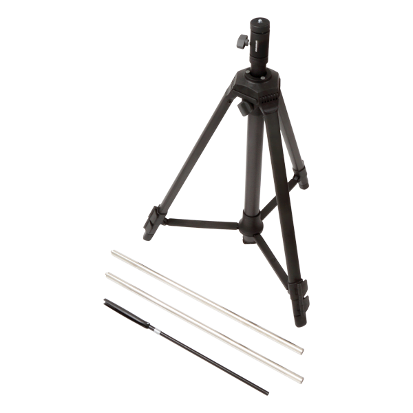 Heavy duty tripod for Rotating Boom Type 3923, includes extension rods and UA-0588