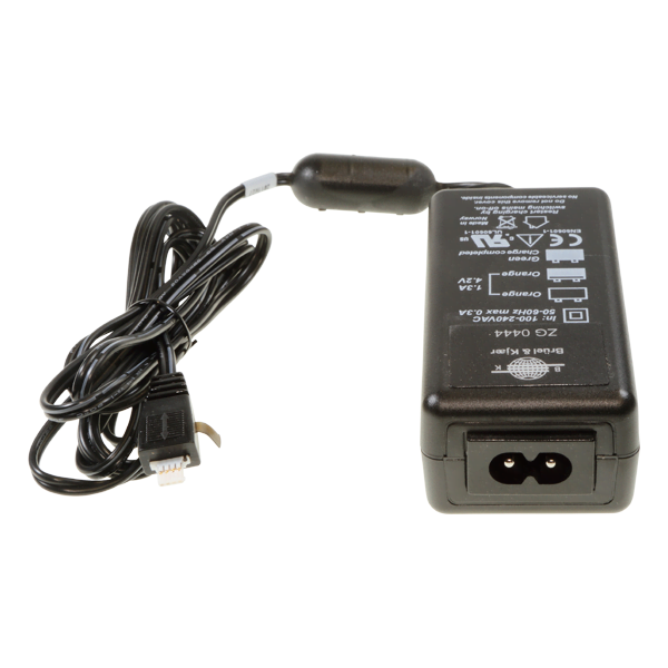 Charger for QB-0061 battery pack used with Hand-held Analyzers Types 22770, 2250 and 2250-L