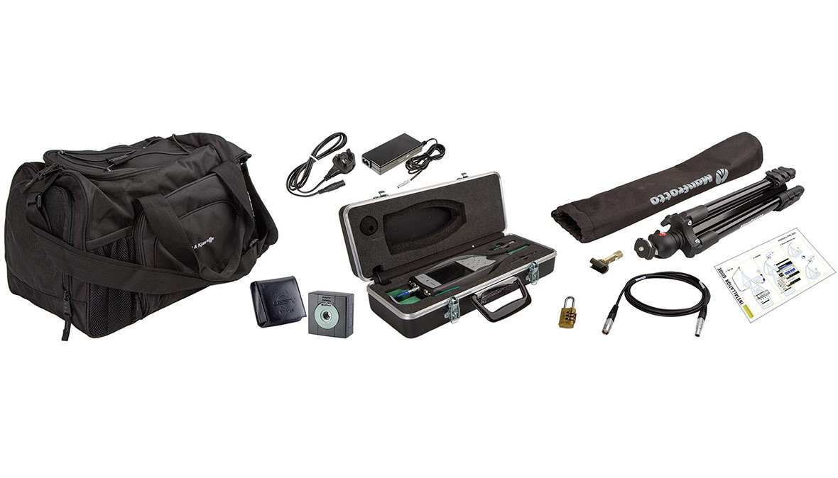 The full MATRON 4 kit provides all the tools needed to perform indoor noise logging