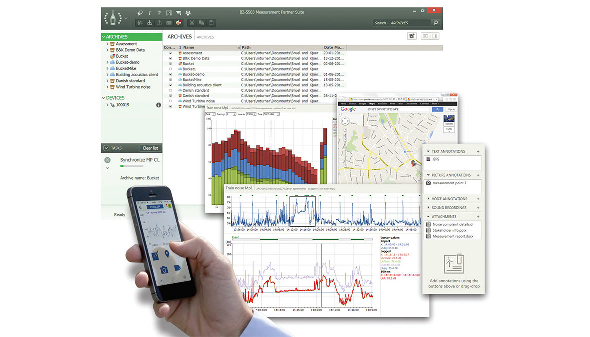 Measurement Partner Suite is the postprocessing software for MATRON 4.
