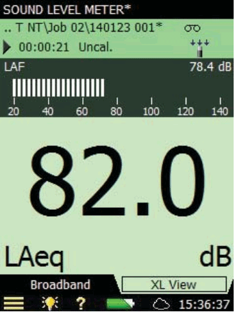 Sound level meter software for Type 2270-S
