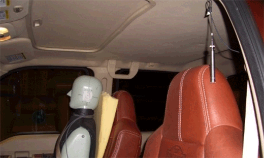 Passenger Truck Interior Acoustic Package Optimization - HATS in cabin