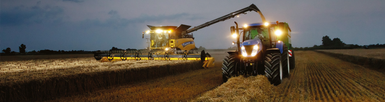 New Holland's developers work hard to reduce the time driving between fields