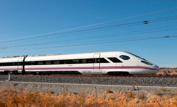 The Oaris high-speed train from CAF.