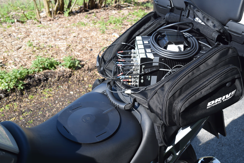 Easy rider? Measuring motorbike vibrations