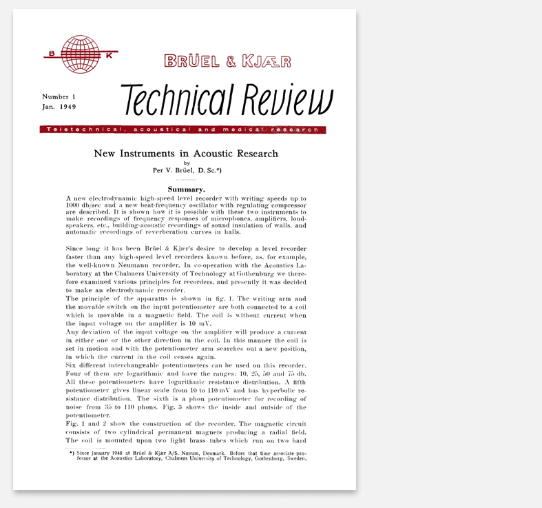 First technical review