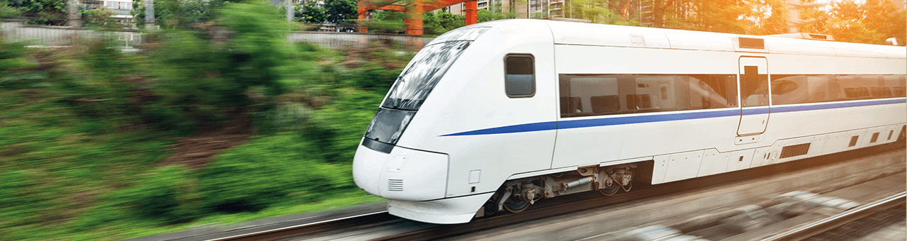 Measuring external noise of a high-speed train