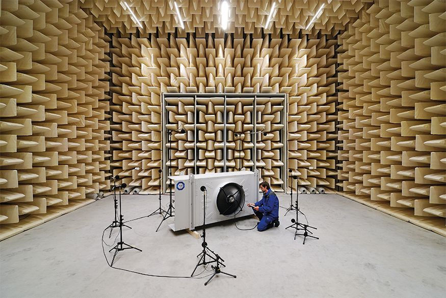 innovative laboratory for a new in-house field of activities – technical acoustics