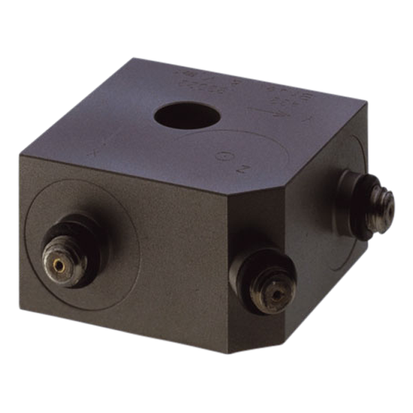 Triaxial piezoelectric charge accelerometer - Type 4321