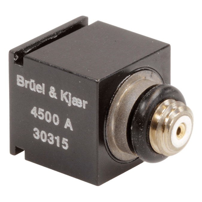 Piezoelectric cubic charge accelerometer - Type 4500-A