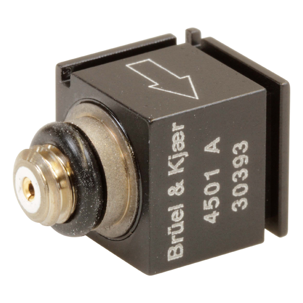 Piezoelectric cubic charge accelerometer - Type 4501-A