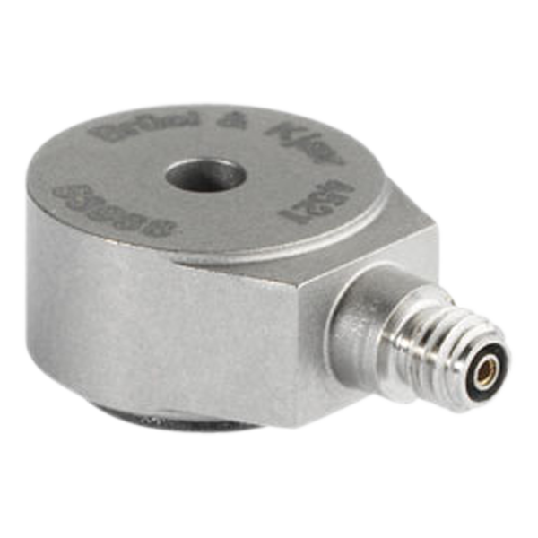 Miniature centerbolt charge accelerometer - Type 4521