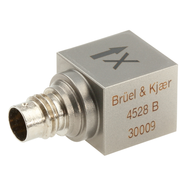 Triaxial CCLD Accelerometer with TEDS Type 4528-B