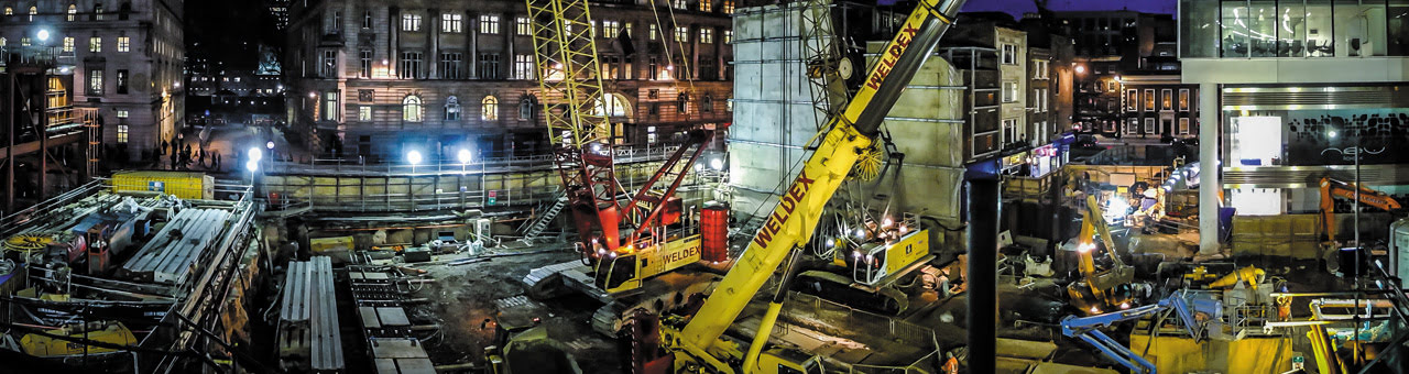 The Crossrail Project London C501 Moorgate Shaft